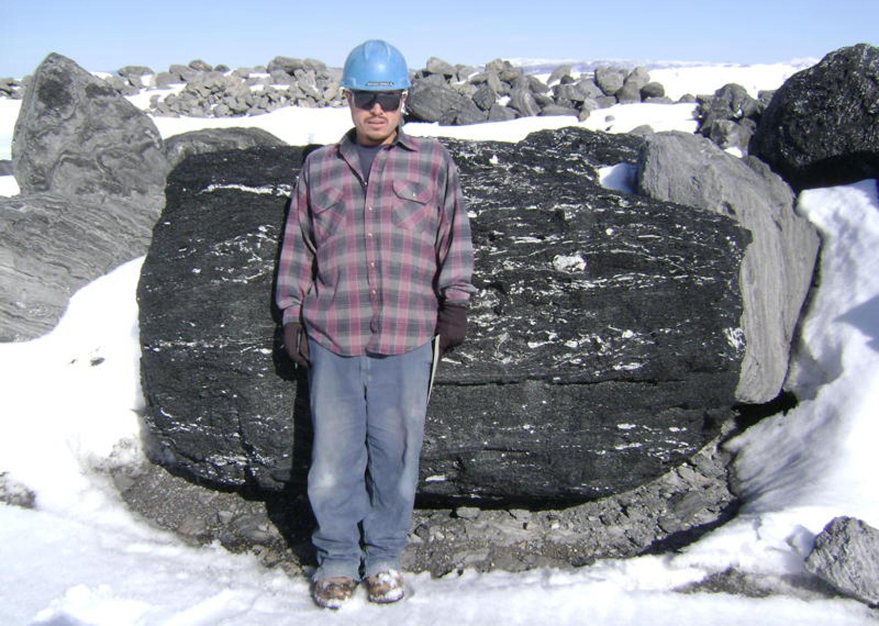 Large Charcoal Boulder