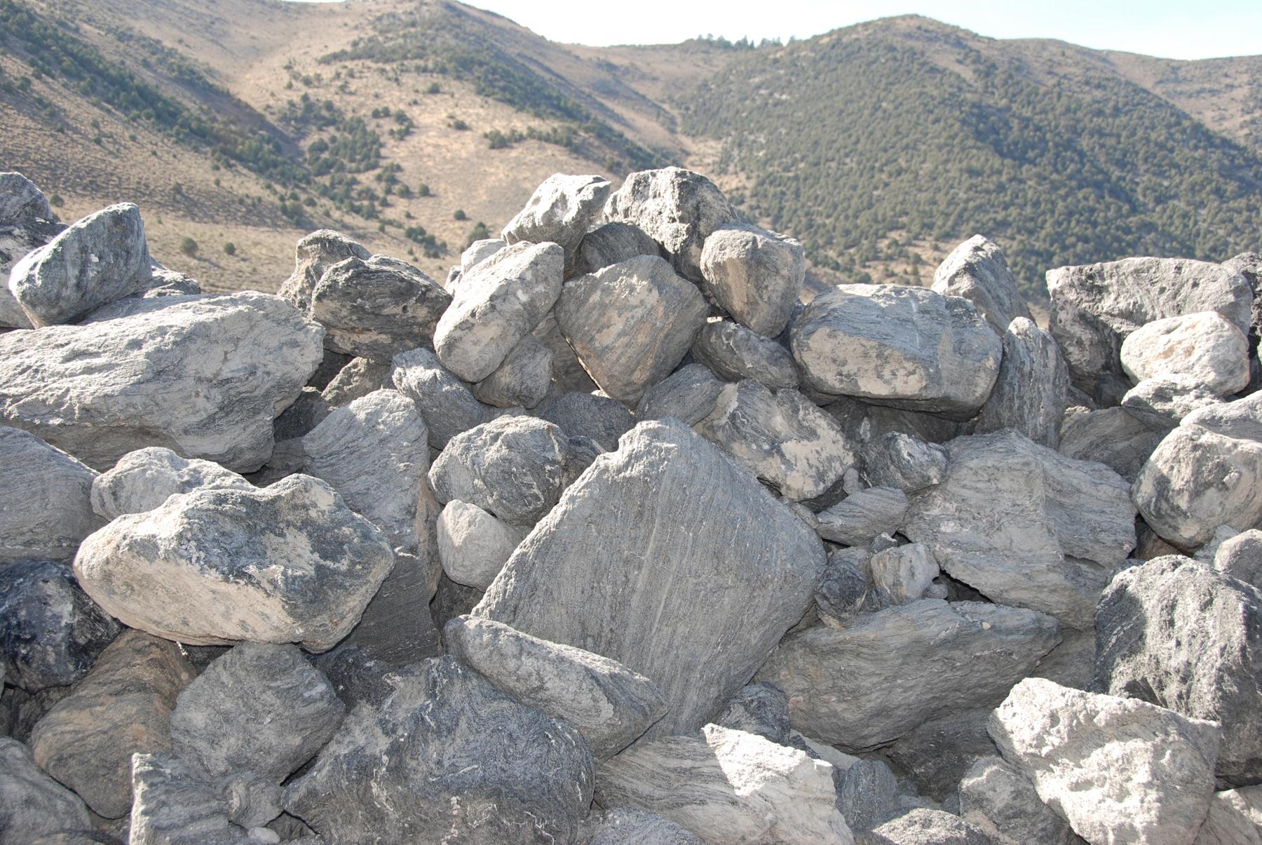 Rock piles!
