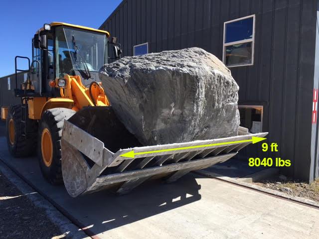Large Grey Boulder