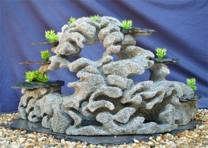 Custom Aquarium Rock by Stevenson Rock