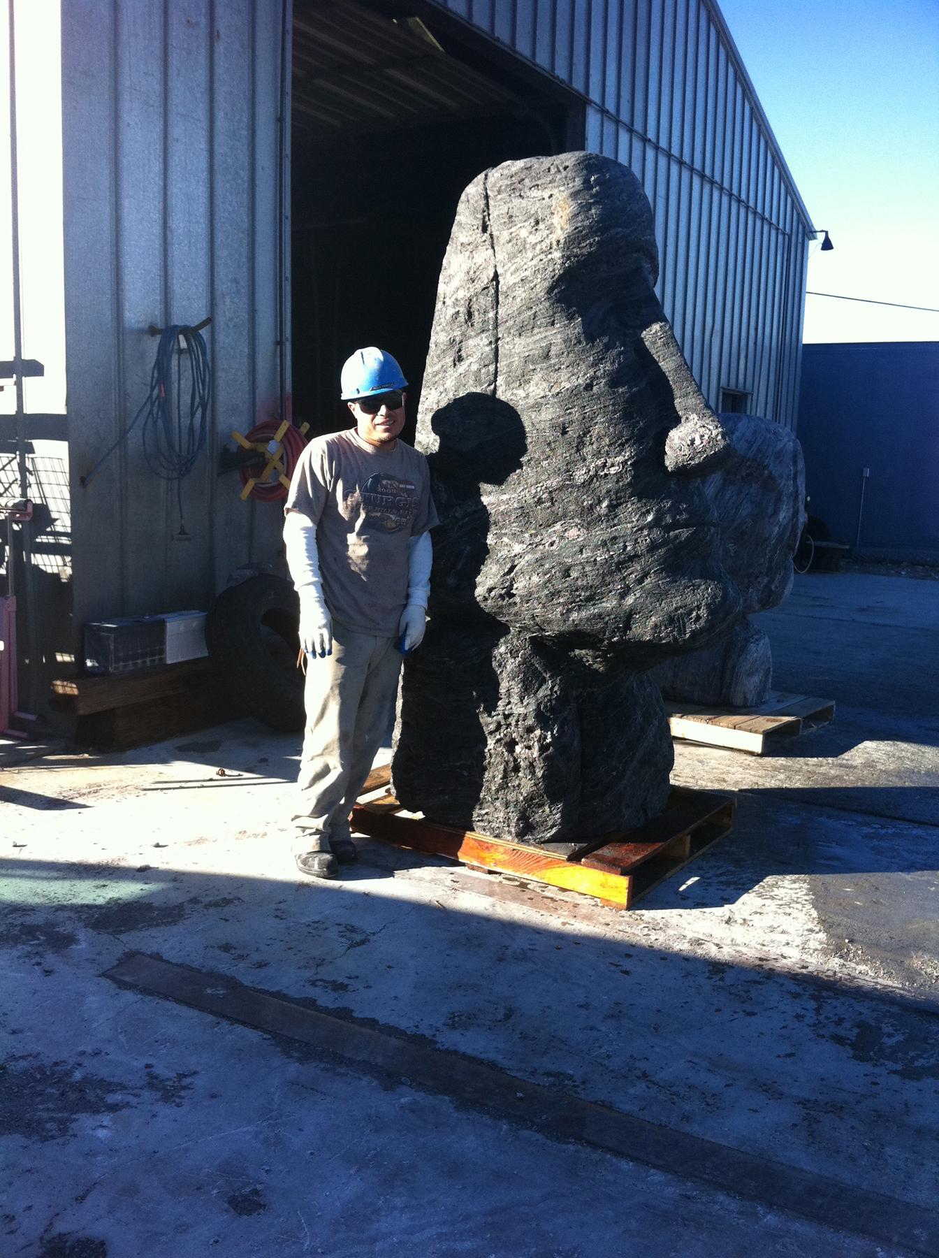 Giant Moai